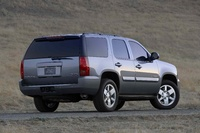 2009 GMC Yukon, Back Right Quarter View, exterior, manufacturer