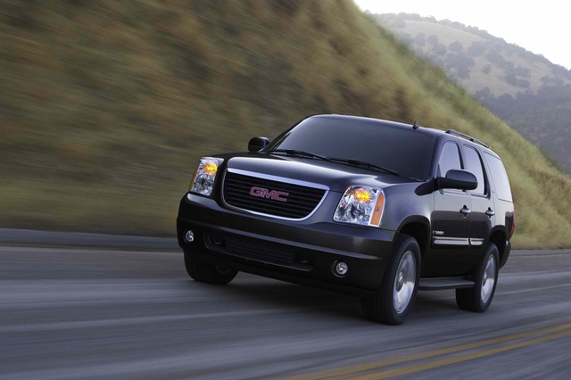 2009 GMC Yukon, Front Left Quarter View, exterior, manufacturer