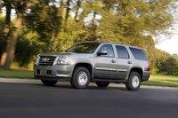 2009 GMC Yukon Hybrid, Front Left Quarter View, exterior, manufacturer