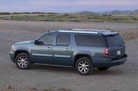 2009 GMC Yukon Denali, Back Left Quarter View, exterior, manufacturer