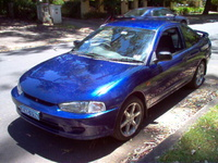 Picture of 2002 Mitsubishi Mirage, exterior