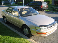 1993 Toyota Camry LE, 1993 Toyota Camry 4 Dr LE Sedan picture, exterior