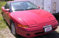 1993 Saturn S-Series 2 Dr SC2 Coupe picture, exterior
