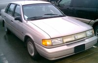 Picture of 1992 Mercury Topaz 4 Dr GS Sedan, exterior, gallery_worthy