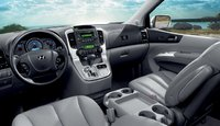 2009 Hyundai Entourage, Interior Front View, exterior, manufacturer