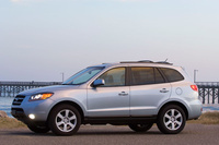 2009 Hyundai Santa Fe, Left Side View, manufacturer, exterior