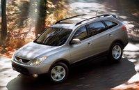 2009 Hyundai Veracruz, Front Left Quarter View, exterior, manufacturer