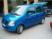 2000 Opel Agila Overview