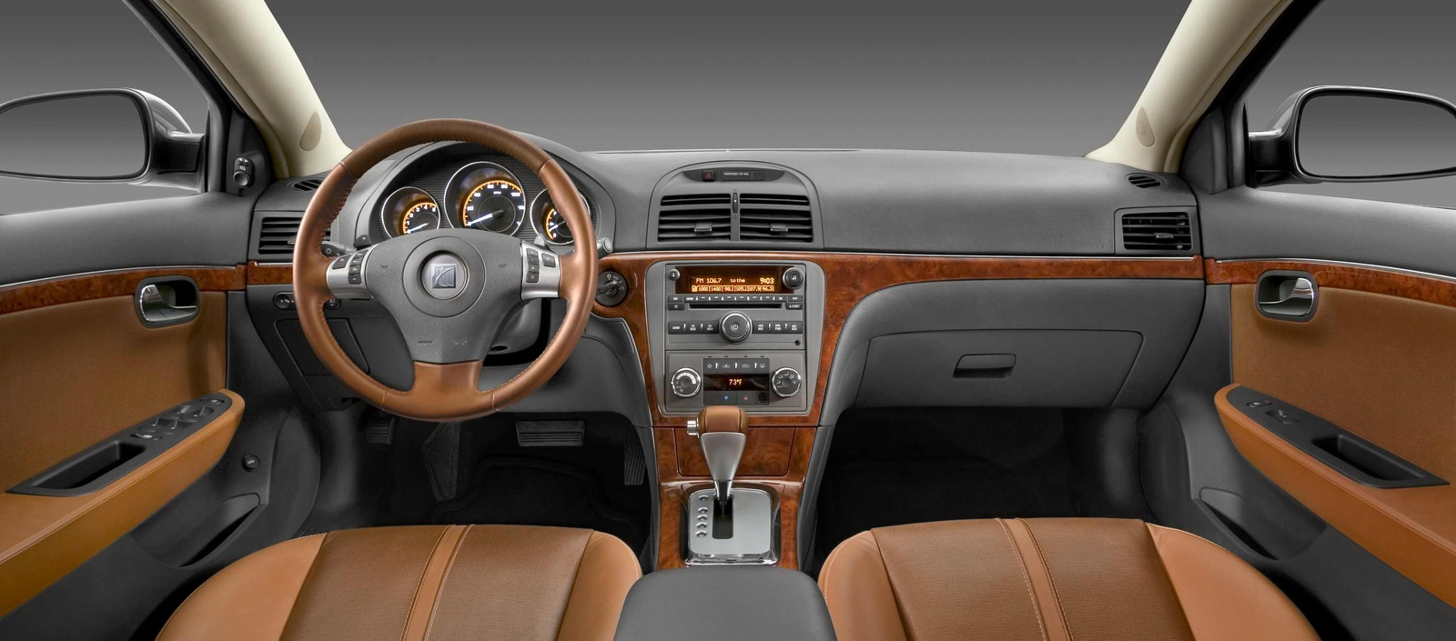 2009 Saturn Aura, Interior Front View, manufacturer, interior