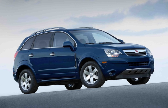 2009 Saturn VUE, Front Right Quarter View, exterior, manufacturer