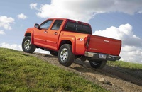 2009 Chevrolet Colorado, Back Left Quarter View, manufacturer, exterior