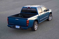 2009 Chevrolet Colorado, Back Right Quarter View, manufacturer, exterior