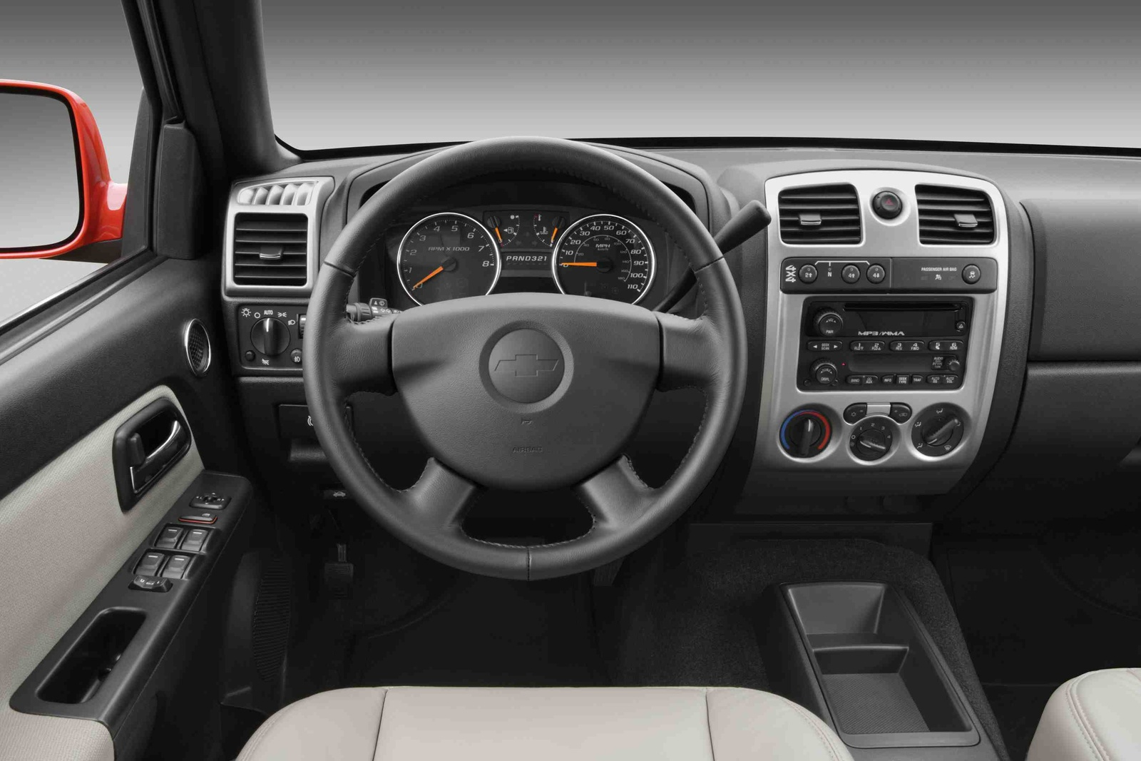 2009 Chevrolet Colorado, Interior Dash View, manufacturer, interior