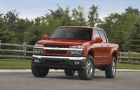 2009 Chevrolet Colorado, Front View, exterior, manufacturer