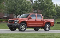 2009 Chevrolet Colorado, Front Left Quarter View, exterior, manufacturer