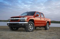 2009 Chevrolet Colorado, Front Left Quarter View, manufacturer, exterior