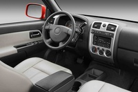 2009 Chevrolet Colorado, Interior Front View, interior, manufacturer