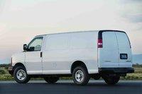 2009 Chevrolet Express Cargo, Back Left Quarter View, exterior, manufacturer