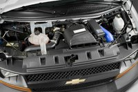 2009 Chevrolet Express Cargo, Engine View, interior, manufacturer