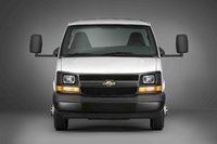 2009 Chevrolet Express Cargo, Front View, exterior, manufacturer