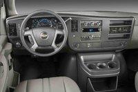 2009 Chevrolet Express Cargo, Interior Front View, interior, manufacturer