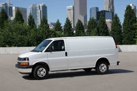 2009 Chevrolet Express Cargo, Left Side View, exterior, manufacturer