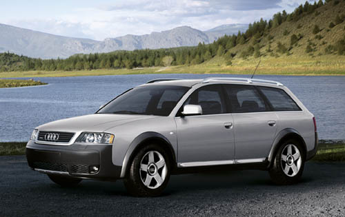 2004 Audi allroad quattro 4 Dr Turbo AWD Wagon picture