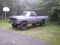 Picture of 1990 Dodge RAM 150 2 Dr S 4WD Standard Cab LB, exterior, gallery_worthy