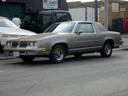 Oldsmobile Cutlass. 1981 Oldsmobile Cutlass