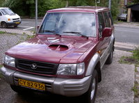 Picture of 2001 Hyundai Galloper, exterior