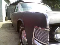 1965 Lincoln Continental Overview