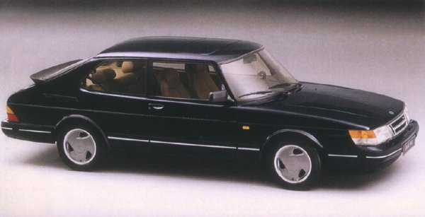 Picture of 1993 Saab 900 2 Dr Commemorative Turbo Hatchback, exterior