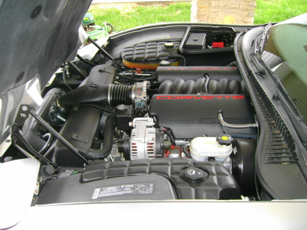 Picture of 2004 Chevrolet Corvette Z06 Hardtop Coupe RWD, engine, gallery_worthy