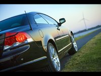 2009 Volvo C70, Back Right View, exterior, manufacturer