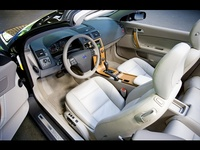 2009 Volvo C70, Interior Left Side View, manufacturer, interior