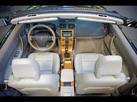 2009 Volvo C70, Overhead View, interior, manufacturer