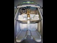 2009 Volvo C70, Overhead Interior View, interior, manufacturer