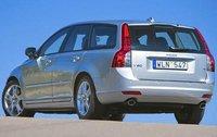 2009 Volvo V50, Back Left Quarter View, exterior, manufacturer