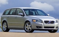 2009 Volvo V50, Front Right Quarter View, manufacturer, exterior