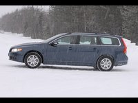 2009 Volvo V70, Left Side View, exterior, manufacturer