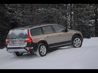 2009 Volvo XC70, Back Right Quarter View, exterior, manufacturer