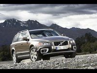 2009 Volvo XC70, Front Left Quarter View, exterior, manufacturer, gallery_worthy