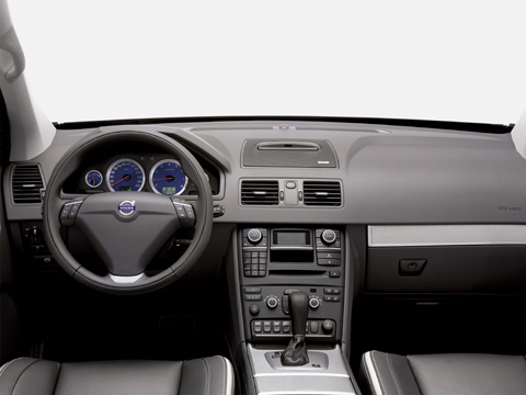 2009 Volvo XC90, Interior View, interior, manufacturer