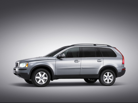 2009 Volvo XC90, Left Side View, exterior, manufacturer
