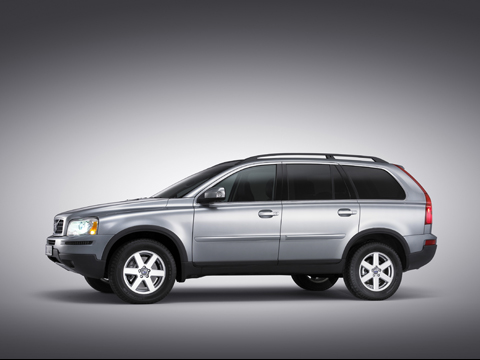 2009 Volvo XC90, Left Side View, manufacturer, exterior