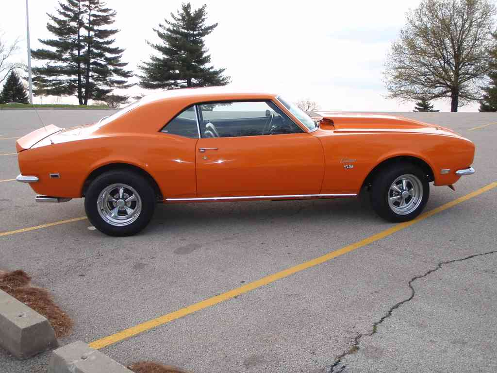 1968 Chevrolet Camaro Ss Related Infomationspecifications Weili Picture Exterior