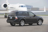 2009 Saab 9-7X, Back Right Quarter View, manufacturer, exterior
