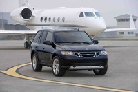 2009 Saab 9-7X, Front Right Quarter View, exterior, manufacturer