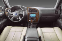 2009 Saab 9-7X, Interior Front View, manufacturer, interior