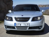 2009 Saab 9-5, Front View, exterior, manufacturer